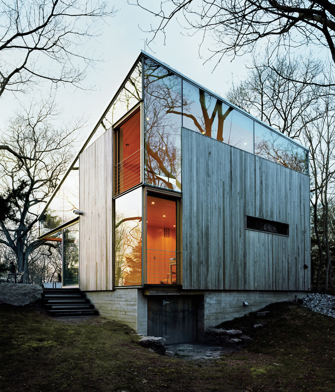 House of the day eco cottage by gray organschi for The guilford house