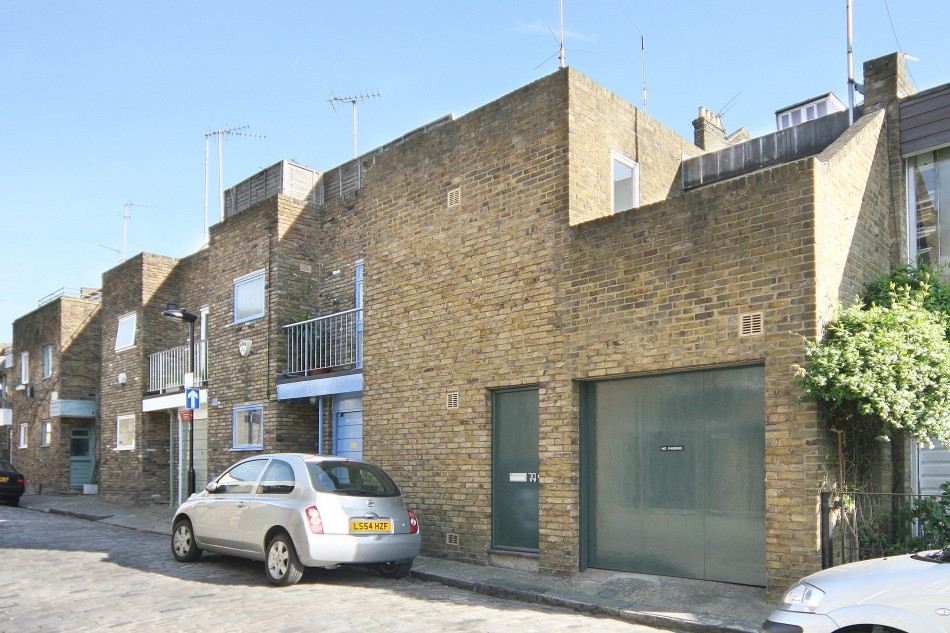 Camden mews london nw1 the modern house for Modern house london