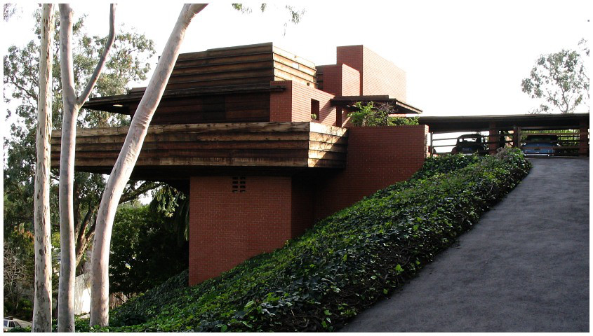 House of the day sturges house by frank lloyd wright for Frank lloyd wright houses in california