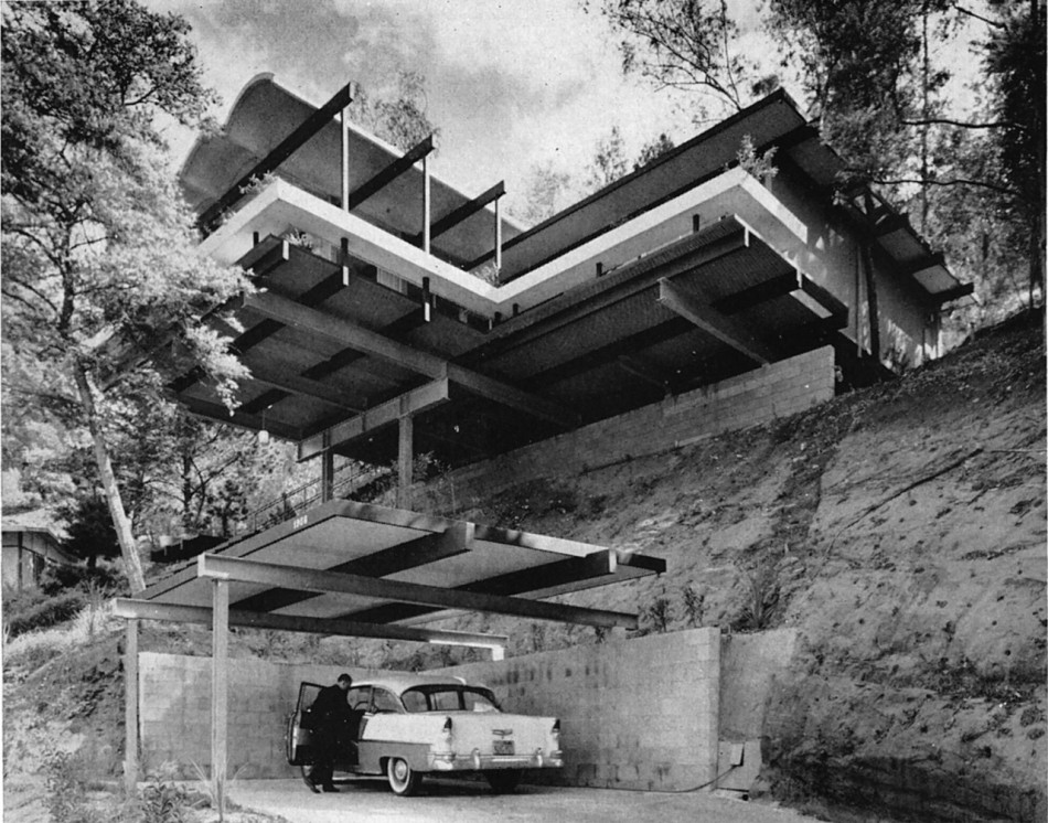 House Of The Day Hillside House By Raul F Garduno Journal The Modern House