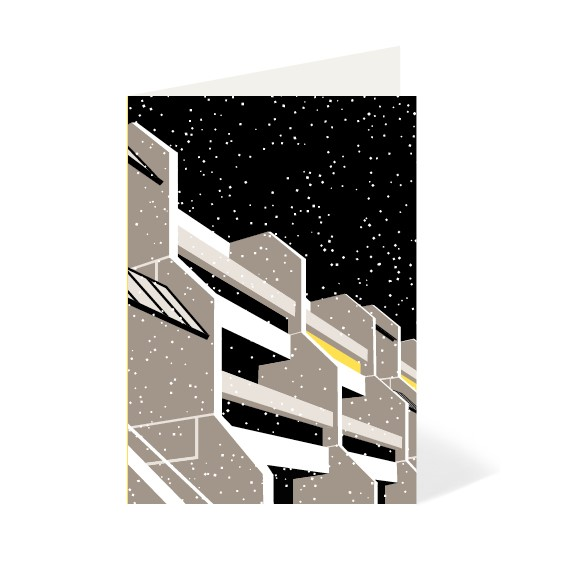 Modern gifts modernist estates london winter cards for Modern house gifts