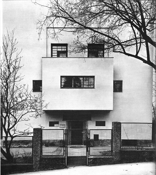 To Da Loos November 2011: House Of The Day: Villa Müller By Adolf Loos