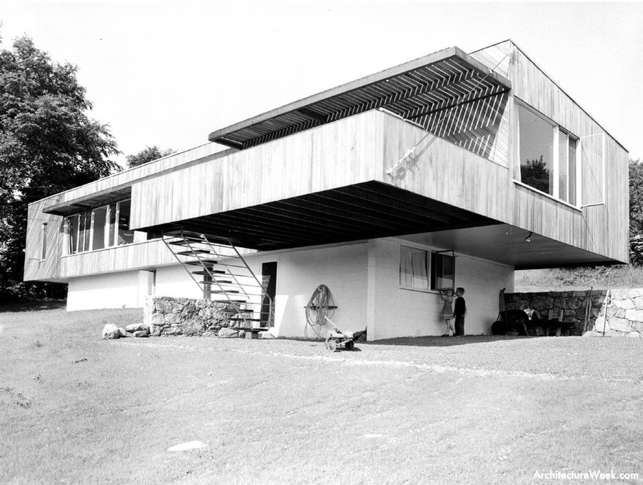 House of the day breuer house i by marcel breuer journal the modern house - Marcel breuer architecture ...