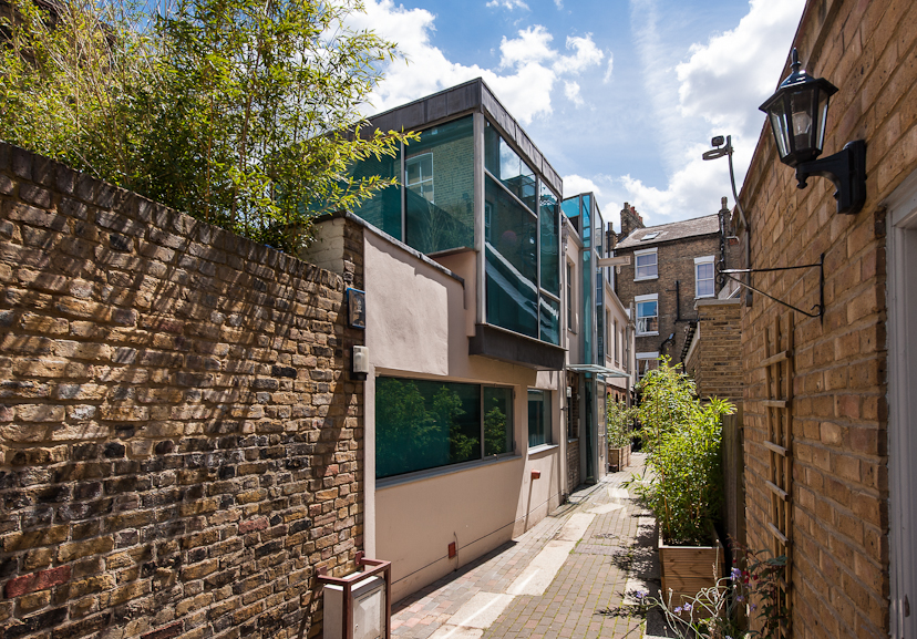 Mercers mews tufnell park london n19 the modern house