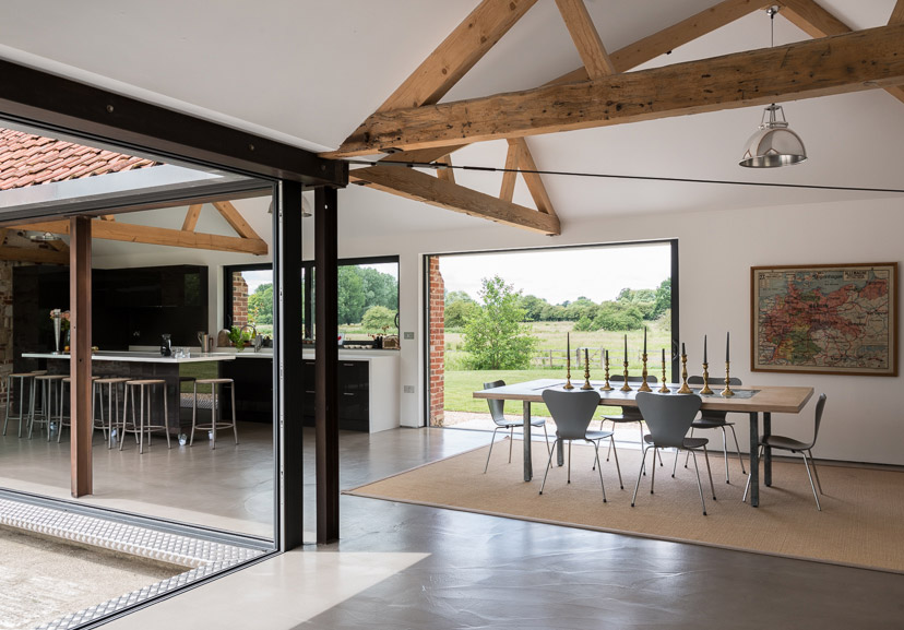 Eye house suffolk uk sleeps 6 the modern house for Modern house holiday lets