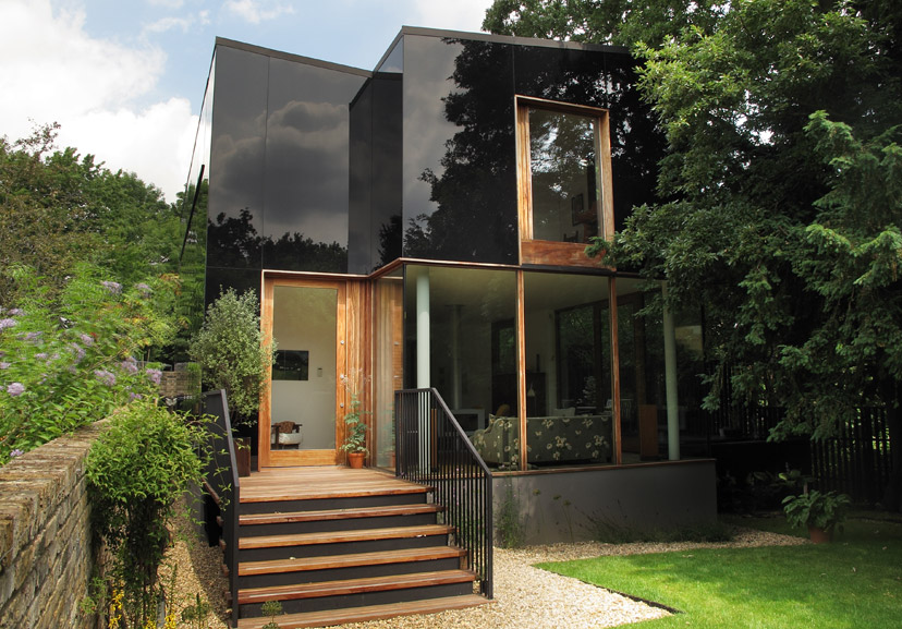 The tree house london se26 the modern house for Modern architecture house london